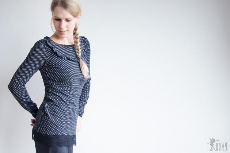 Shirt Aurelie nach Lilabrombeerwölkchen