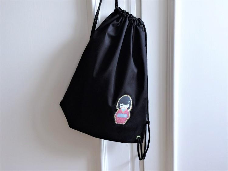 Kleiner Rucksack nach eigenem Schnitt