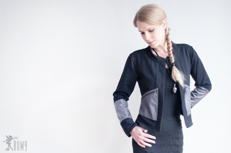 Cardigan-Jacke Carja - nach dem Schnitt von Miss Rosi Design