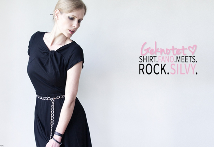 Knotenshirt Fano - Schnittbox / Rock Silvy - Romy Nähwerk
